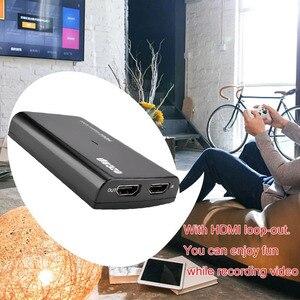 Image 5 - Tarjeta de captura de vídeo HDMI de 1080P y 60fps, grabadora de Audio con micrófono USB 3,0 para PS4, Xbox, Vmix, OBS, Youtube, placa de transmisión en vivo, bucle 4K
