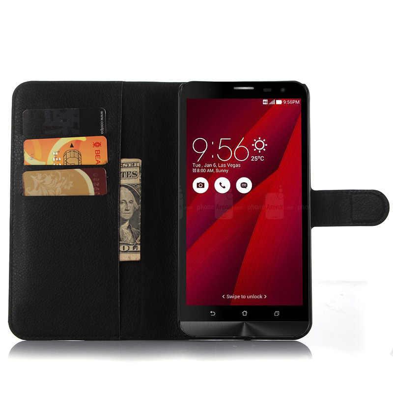 EMBEST محفظة قلابة كتاب الهاتف حافظة جلدية لهواتف آسوس ZenFone 2 ZE550ML/ZE551ML حالة ل الليزر ZE550KL ZE500KL ZE601KL
