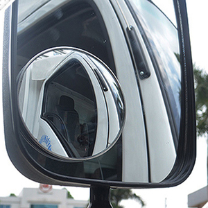 1PC Side Mirrors For Trucks Waterproof Car Blind Spot Mirror Round Convex Wide Angle Baby Auto Rear View Mirrors Accessories(China)