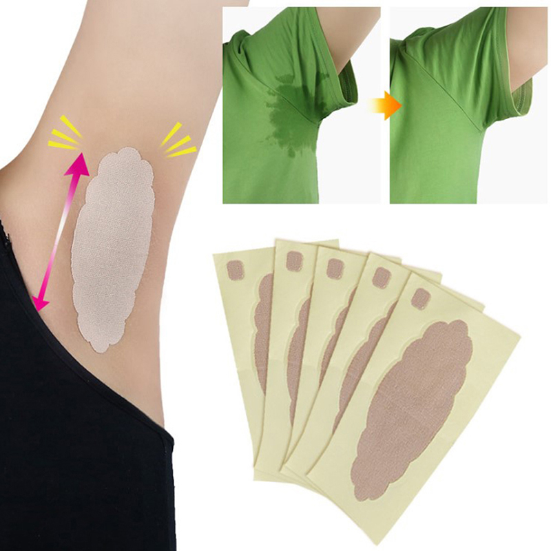 2pcs Anti Sweat Armpit Absorbent Pads Summer Deodorants Armpit Absorbent Pad Sticker Underarm Sweat Pads For Clothing T-Shirt