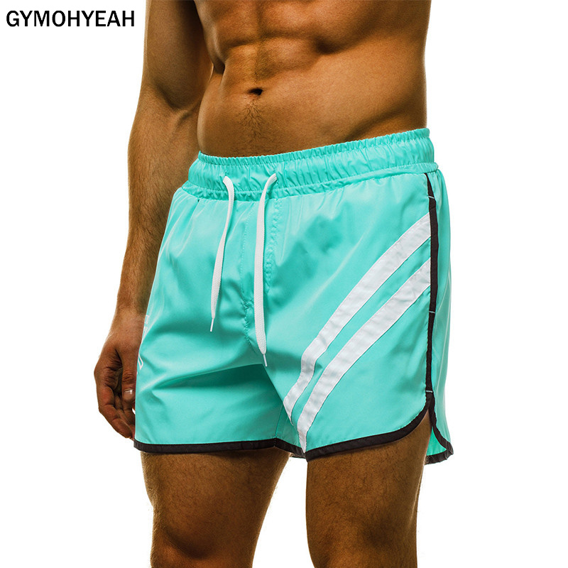 The Summer Mens Gyms Fitness Shorts Bodybuilding Joggers Quick-dry Cool Short 2020 Pants Male Casual Beach Brand Sweatpants