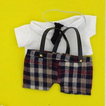 Doll knickers 20cm exo doll knickers shirt tie cloth doll trousers plush doll dress shirt doll accessories aifei doll
