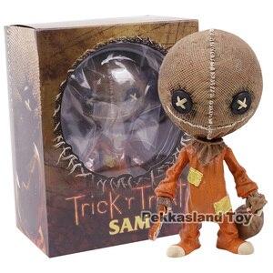 Image 5 - Mezco figura de acción de PVC, Trick R Treat, estilizado, Sam, juguete de modelos coleccionables