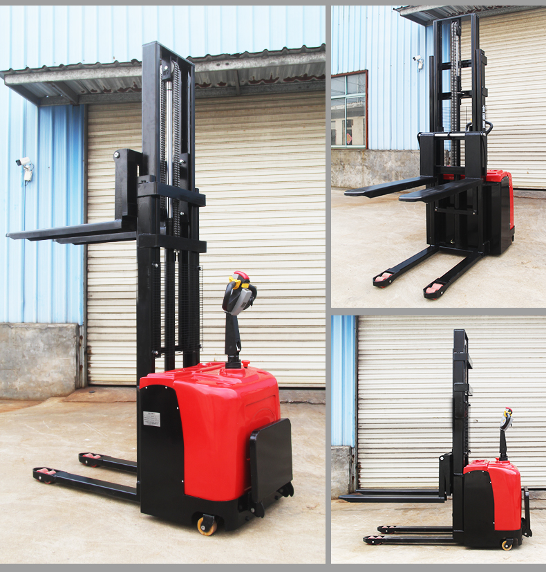 H9a69af571a764eb18a8dd4ac0a3f53301 - Hot product hydraulic electric stacker/manual forklift/material handling equipment