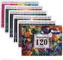 Brutfuner 48/72/120/160 цветные профессиональные масляные карандаши