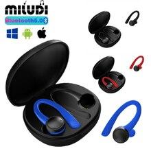 T7 TWS หูฟังบลูทูธหูฟังไร้สายชุดหูฟังสเตอริโอกันน้ำสำหรับ Xiaomi Huawei Iphone กีฬาเพลงหูฟัง