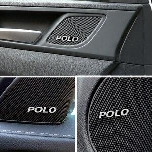 4 шт. великолепный стиль, автомобильный Автомобильный аудио декоратор для Volkswagen VW Polo Scirocco CC GOLF 7 Golf 6 MK6 Tiguan автомобильные аксессуары