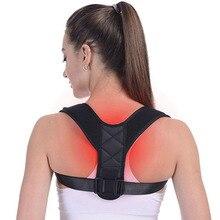 Brace Support Belt Adjustable Back Posture Corrector Clavicl