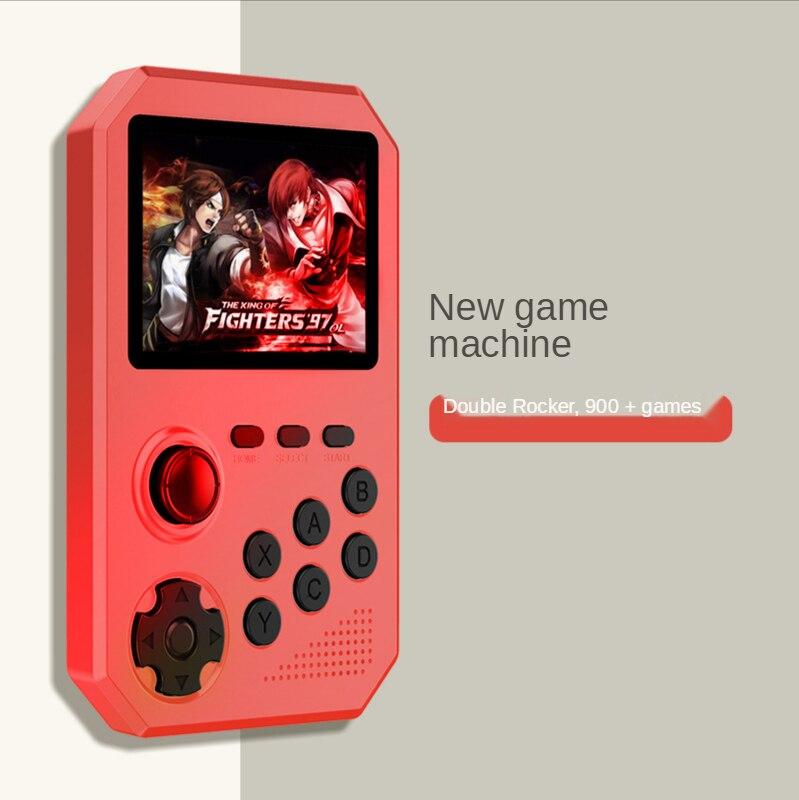 2021 novo 3 Polegada retro game console portátil máquina de jogo suporte av tv jogos de saída handheld parnter jogadores do jogo para fc/