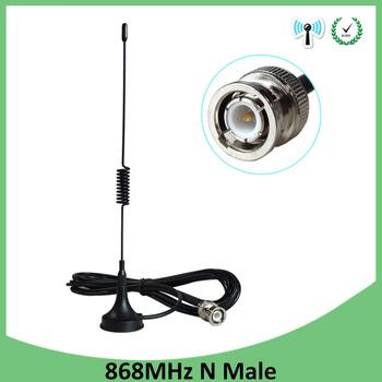 10 sztuk 868Mhz 915MHz Antena UT-102 złącze BNC 5dbi mobilny magnes anteny VHF UHF 50W RG-174 3 metr przedłużacz anteny tanie i dobre opinie GRANDWISDOM CN (pochodzenie) 868mhz bnc antenna 868MHz antenna 3 meter