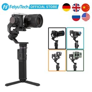 Image 1 - FeiyuTech Feiyu G6 Max 3 Axis Handheld Gimbal StabilizerสำหรับSONY Canon Mirrorlessกระเป๋ากล้องAction GoPro Hero 8 7 6 5 โทรศัพท์