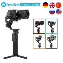 FeiyuTech Feiyu G6 Max 3 Axis el Gimbal sabitleyici SONY Canon aynasız cep eylem kamera GoPro kahraman 8 7 6 5 telefon