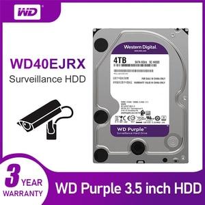 Image 5 - WD סגול 4TB HDD מעקב קשיח דיסק כונן 5400 RPM Class SATA 6 Gb/s 64MB Cache 3.5 אינץ WD40EJRX מצלמה ip