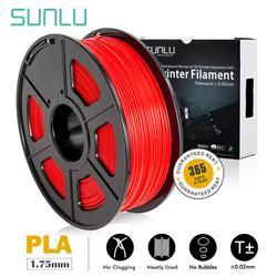 Sunlu PLA 3D drukarki cunsumtion pla 1.75mm żarnik z RoHS Reach certyfikat dla majsterkowiczów specjalne prezenty pełne kolory