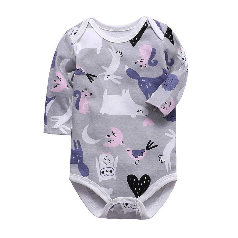 Baby Girls Clothing Jumpsuit Newborn Toddler Romper Long Sleeve 100% Cotton 3-24 Months Infant Boys Clothes | Happy Baby Mama