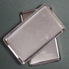 Для iPod classic 80 ГБ 120 Гб 160 Гб 128 ГБ 256 ГБ 512 ГБ задняя крышка чехол тонкий и толстый