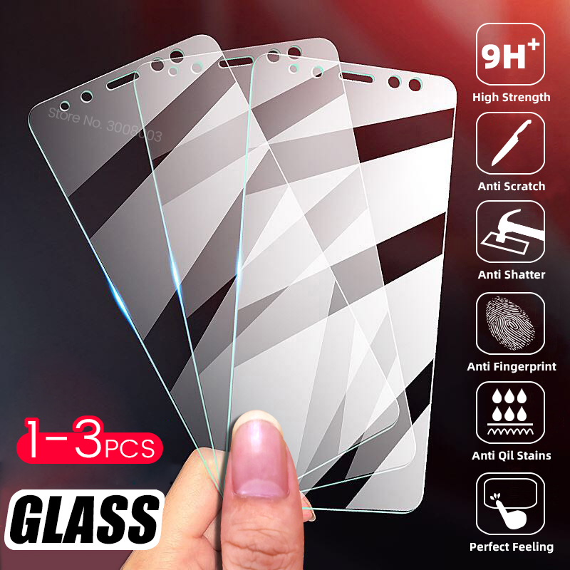1-3PCS Screen Protector Tempered Glass For Xiaomi Redmi 5 Plus Note 5 Pro 5A Prime Notes 4X 4A 4 X 5