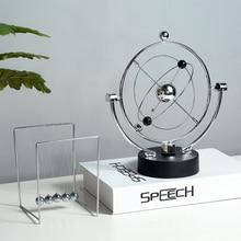 Newton Pendulum Balls Metal Pendulum Maglev home decoration accessories modern Handmade craft gift Deskdecoration entertainment