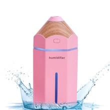 New design pencil humidifier kids oil diffuser 230ML  aromatherapy car air humidifier umidificador usb  christmas diffuser gift