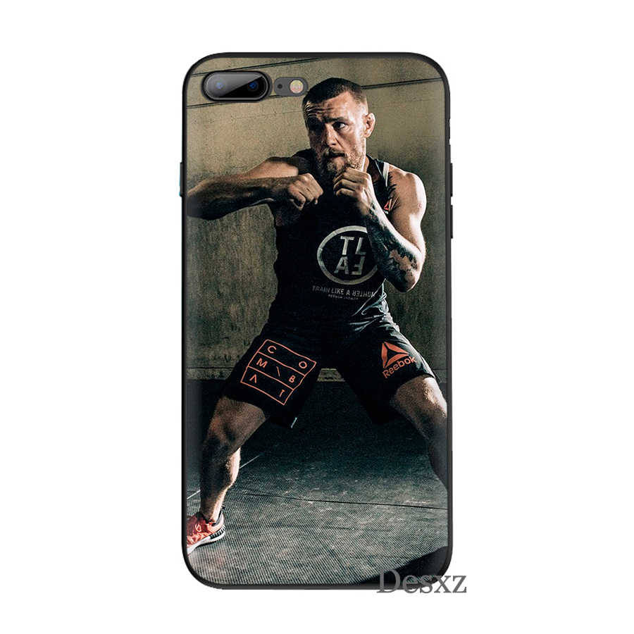 Conor McGregor UFC Novelty สำหรับ iPhone 8 7 6 6S Plus iPhone 11 Pro X XS XR MAX 5 5S SECover