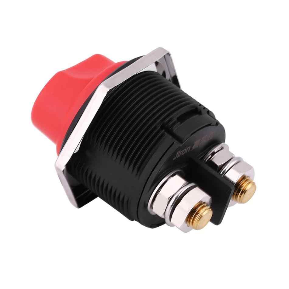 Jtron DC32V 200A Interruptor de Aislamiento de Bater/ía de Coche Interruptor Aislador de Bater/ía Interruptor de Interruptor de Corte de Apagado Maestro para Coches Camiones Barco Marino