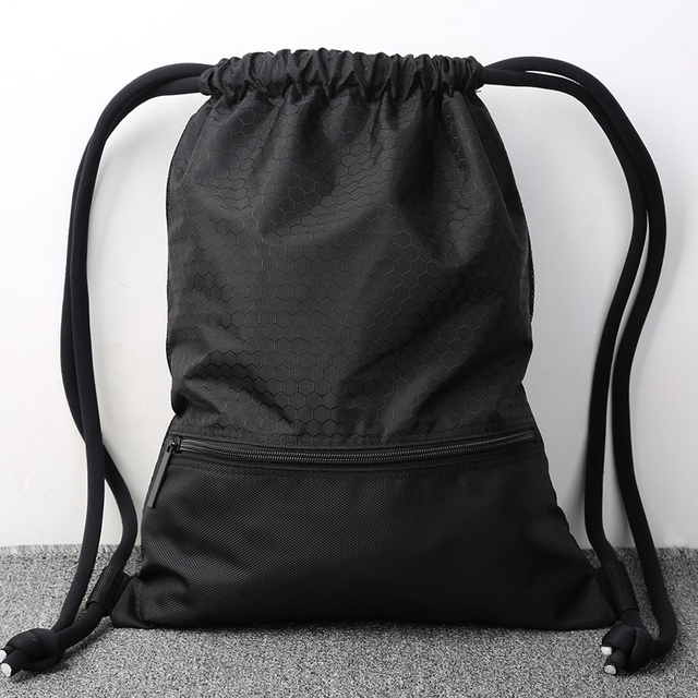 Tornister plecak ze sznurkiem dla nastoletnich kobiet wodoodporna torba ze sznurkiem kostki do pakowania o dużej pojemności plecak sportowy Mochila