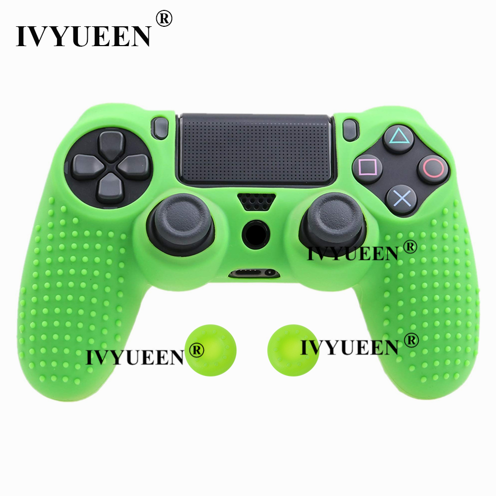 for Sony PlayStation dualshock 4 ps4 pro slim controller silicone case skin 14