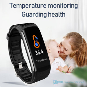 Image 2 - 2020 New Smart Watch Women Men Body Temperature SmartWatch Fitness Tracker Heart Rate Monitor Smart clock For Andriod IOS