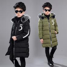 Куртка на хлопковом наполнителе для мальчиков подростков с капюшоном