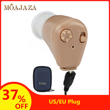 K-88 akumulator aparaty słuchowe Mini aparaty słuchowe w uchu dla głuchota wzmacniacze dźwięku dla osób starszych głuchych regulacja głośności tanie i dobre opinie Moajaza Hearing Aids Rechargeable Hearing Aid US EU Plug Hearing Aids Resound Amplifier Hearing Aids For Elderly EU Plug US Plug(Optional)