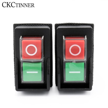dkld dz05 7pins ip55 380vac 10a waterproof on off solenoid electromagnetic pushbutton push button switches machine start swit 1pcs KJD17 Garden Tools Electromagnetic Starter Push Button Switches Machine Tool Equipment IP55 Waterproof Safety witch 28A