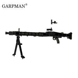 1:1 MG42 Тяжелая машина, пистолет во время Второй мировой войны, немецкий общий пистолет, 3D бумажная модель