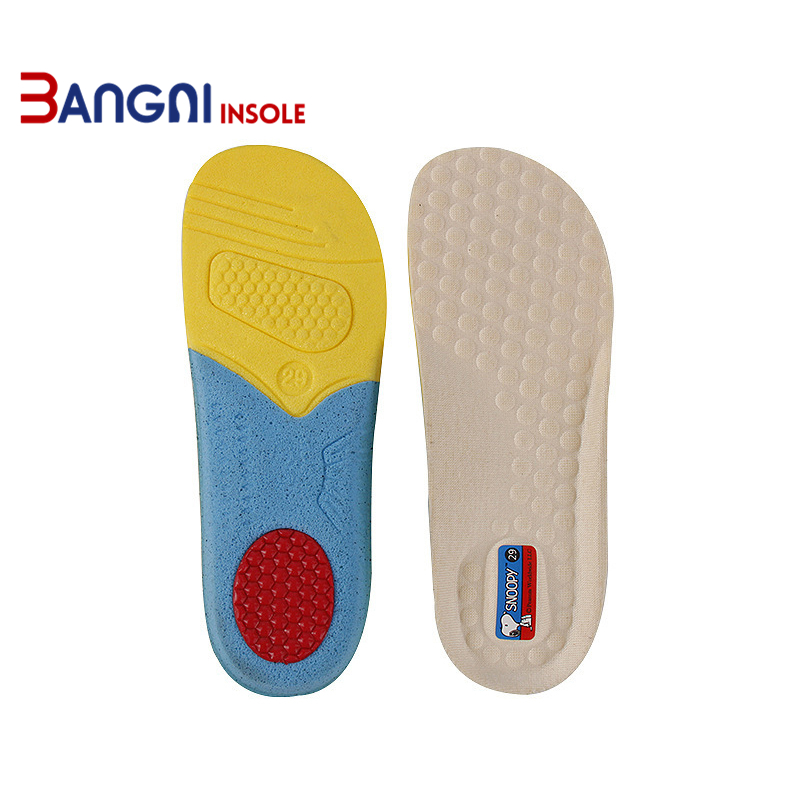 3ANGNI Elastic Child/Baby Orthotic Arch Support Shoe Insert Flat Feet Insoles For Shoes Comfortable EVA Orthopedic Insoles