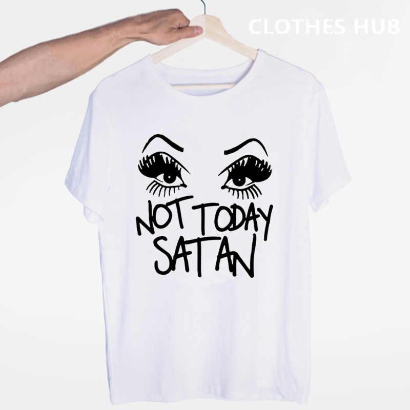 RuPaul Non oggi Satana Non oggi RuPaul delle Trascinare Corsa T-Shirt O-Collo Manica corta Estate Maglietta Unisex