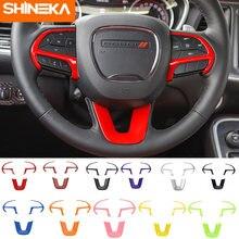 Автомобильные наклейки shineka для dodge challenger украшение