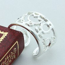 цена на New Arrival Special Design Hollow Out Women Ring 925 Sterling Silver Lovely Flower High Quality Jewelry Elegant Wedding Gift
