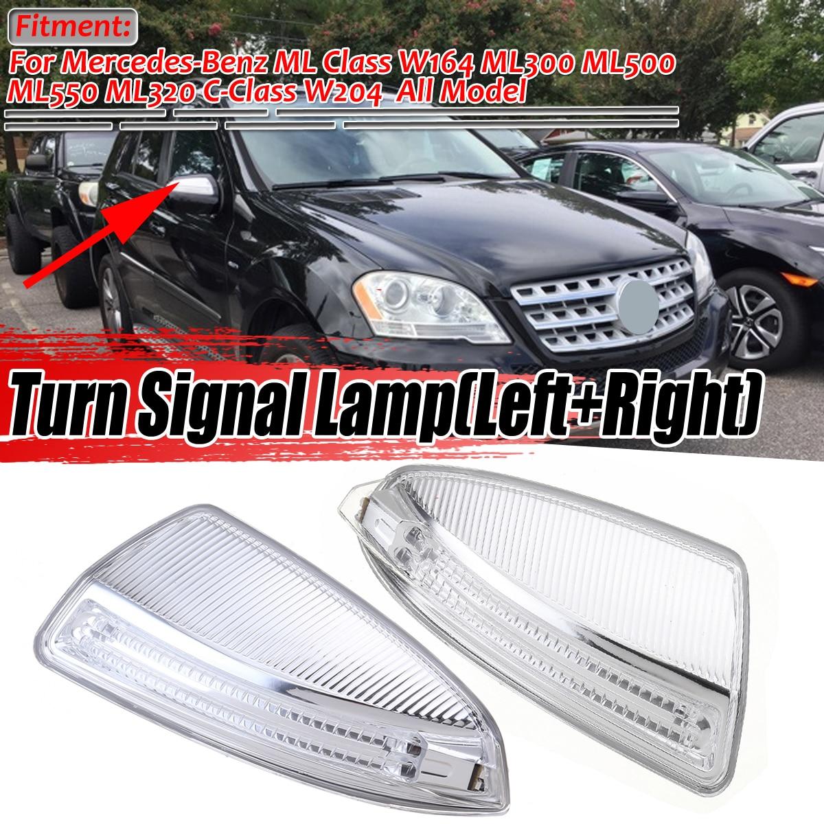 Mirror Indicator Turn Signal Light Left /& Right For Mercedes W204 C300 C350 C63