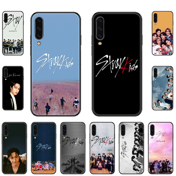Singer Stray Kids Phone case For Samsung Galaxy A 3 5 8 9 10 20 30 40 50 70 E S Plus 2016 2017 2018 2019 black tpu hoesjes image