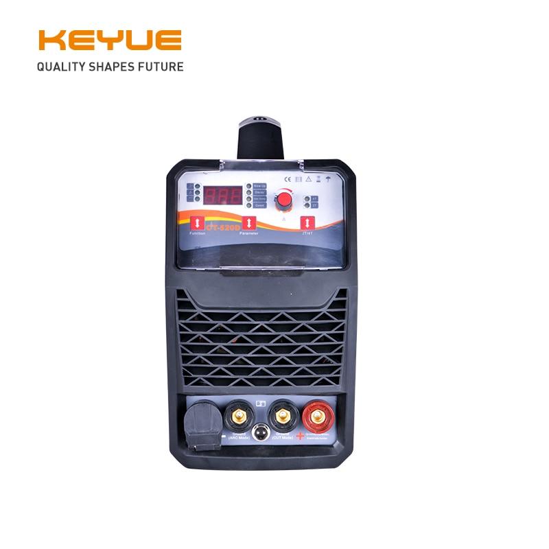 CT-520D CUT LIFT TIG MMA 3 IN 1 einphasig 220V 50A IGBT digital control Tragbare air Plasma Cutter 16mm sauberen schnitt heimgebrauch