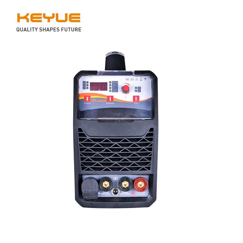 CT-520D CUT LIFT TIG MMA 3 w 1 jednofazowy 220V 50A IGBT sterowanie cyfrowe przenośne powietrze palnik plazmowy 16mm czyste cięcie użytku domowego