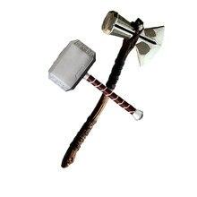 Machado martelo cosplay armas filme papel jogando trovão martelo machado stormbreaker 73cm 44cm