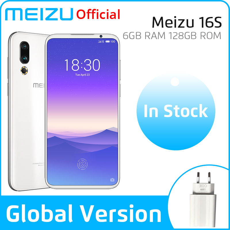 In Stock Global Version Meizu 16s 6GB/8GB 128GB 16 S Smartphone Snapdragon 855 6.15