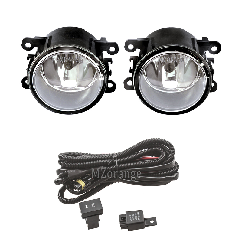 For NISSAN Navara D40 Fog Lights Note E11 Pathfinder R51 Halogen Fog Light Fog Lamp Headlights Headlight DRL Foglights