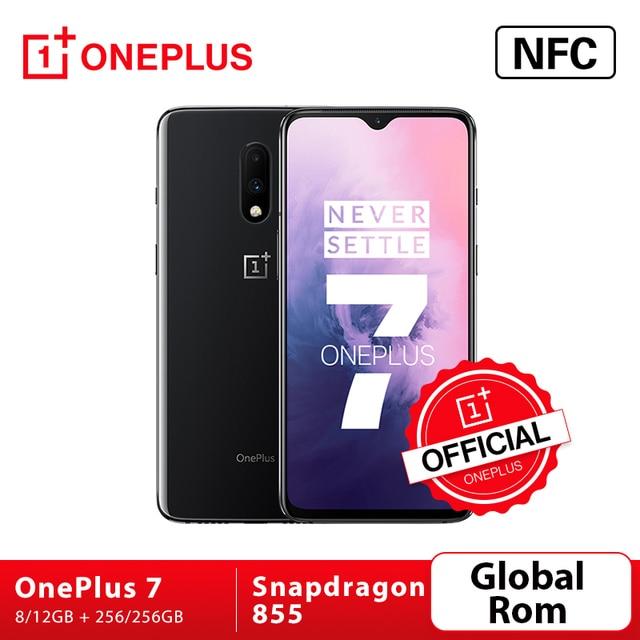 """Global Oxygen ROM Oneplus 7 Snapdragon 855 smartfon z procesorem ośmiordzeniowym Octa Core 6.41 """"ekran AMOLED 48MP podwójna kamera cofania 16MP z przodu NFC telefon komórkowy"""