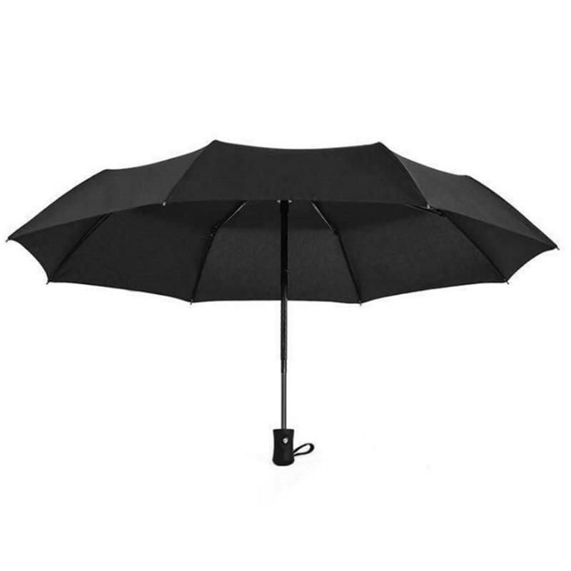 From The Open Close Fully Automatic Umbrella Three-fold Umbrella Shang Wu San Customizable Umbrella Advertising Umbrella Self-op