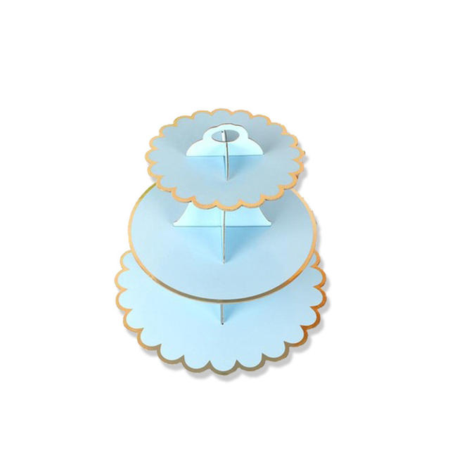 Paper Cupcake Stand for Table Decoration