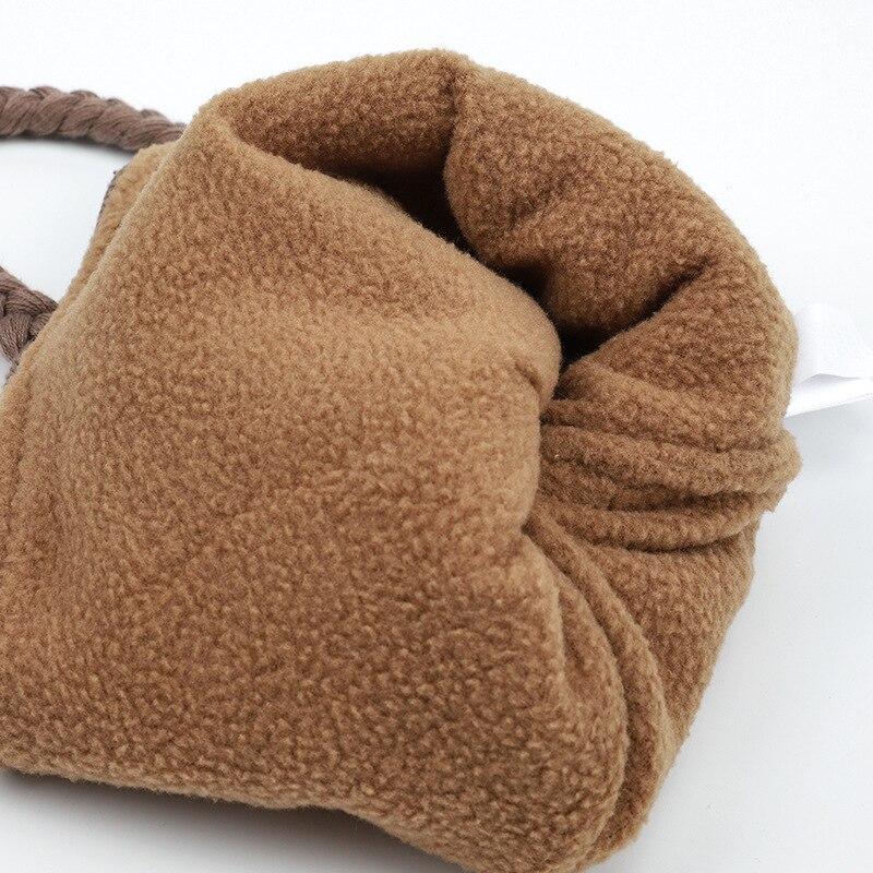 pasamonta/ñas bufanda Orejeras de punto de dibujos animados con capucha calentador de cuello para ni/ños de 6 a 24 meses gorro de beb/é forro polar grueso con pa/ñuelo