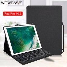 Für iPad Pro 10,5 Fall Bluethooh Smart Tastatur Folio Stand Abdeckung Bleistift Halter Fällen Für iPad Pro 10,5/iPad air 3 2019 Abdeckung