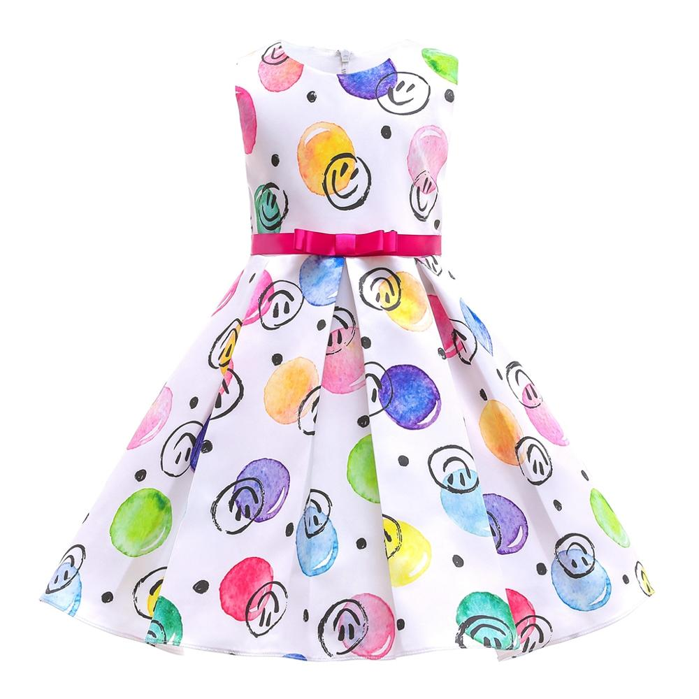 Princess Dress Girl Robes Sukienka Dziewczynka Fantasia Infantil Vestidos Meisjes Kleding Clothes Vestidos Baju Anak Perempuan