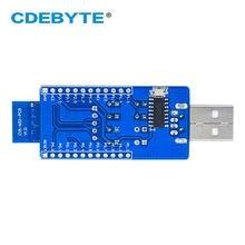 E18-TBL-01 CH340G USB To TTL Serial Port 4dBm Test Board UART ZigBee Module